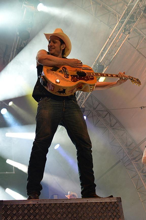 """Die Band """"The Boss Hoss"""" bringt Country-Stimmung auf die Bühne."""