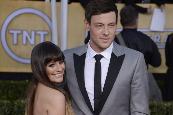 Lea Michele marked the anniversary of her boyfriend Cory Monteith's death by posting on Instagram a throwback photo of them in happy times.