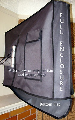 outdoor TV cover-need to make this investment.