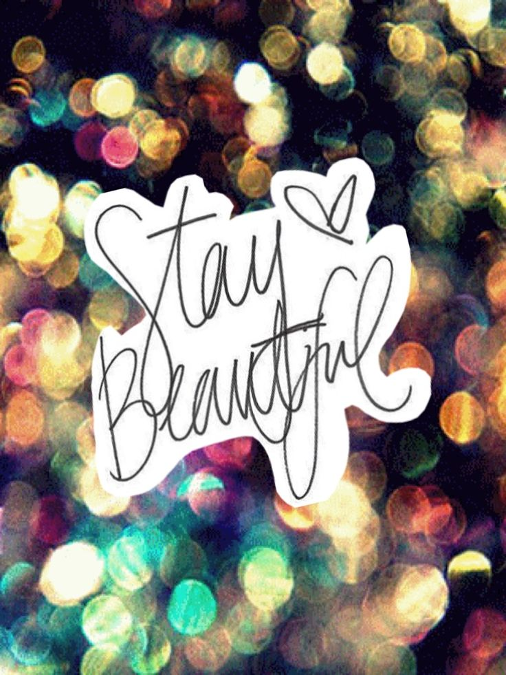 Stay beautiful through all the drama! I promise everything will be ok in the end. You may realize stupid things along the way- put keep your head up by staying beautiful and strong!
