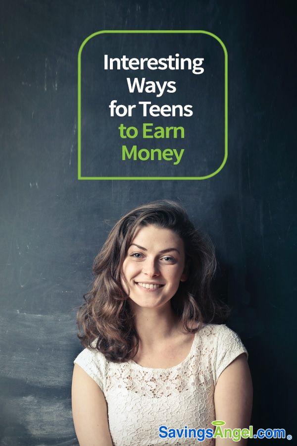 Interesting Ways for Teens to Earn Money – Savings Angel | Money Saving Tips + Budgeting Tips
