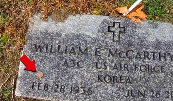(adsbygoogle = window.adsbygoogle || []).push();   Dave Malenfant, trabaja en el cementerio nacional en Holly, en donde están enterrados lossoldados caídos, y una de las labores que realiza es mantener en buen estado y limpias las piedras de las lápidas. Al estar realizando su...