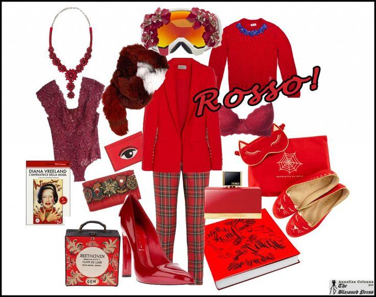 Rosso Natale: lo Style Board con le idee regalo per lei http://www.theblazonedpress.it/website/2013/12/06/rosso-natale-23-idee-regalo-per-donne-passionali-ed-originali/86284