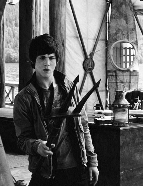 logan lerman | percy jackson and the olympians