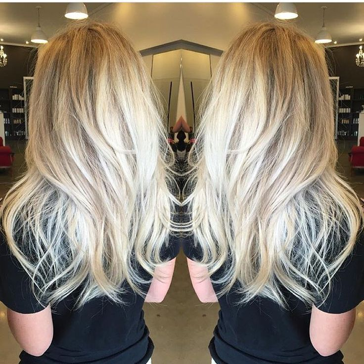Magnificent 1000 Ideas About Long Blonde Haircuts On Pinterest Blonde Short Hairstyles Gunalazisus