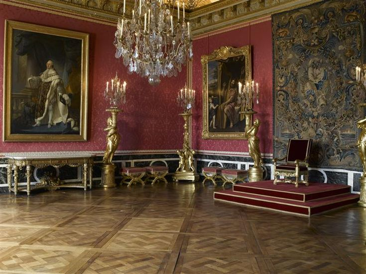 Throne Room At Palace Of Versailles Court To Cafe 1