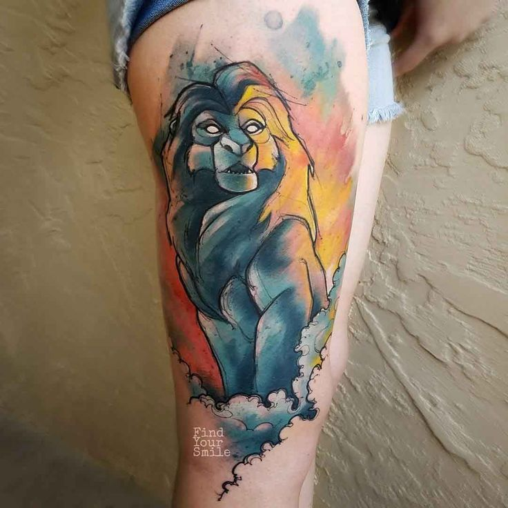 Best 25+ Lion King Tattoos Ideas On Pinterest