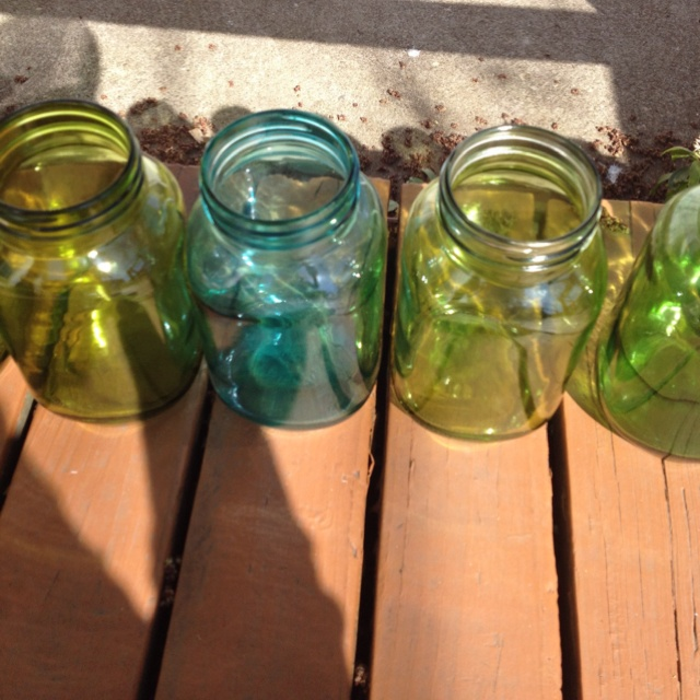Pinner Says Tinted Mason Jars For My Wedding I Them Using Alcohol Ink