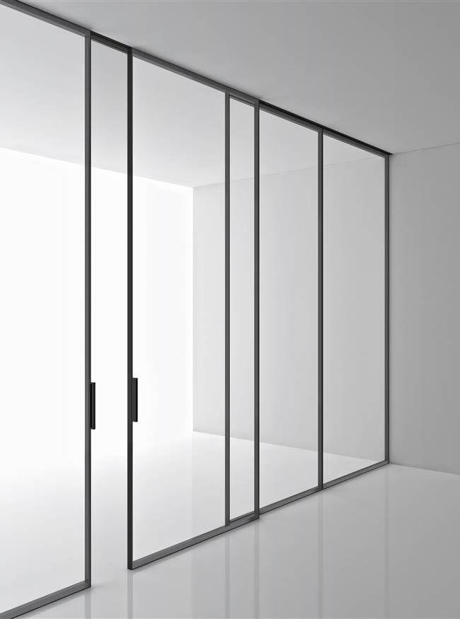 Boffi - Aluminium and glass storage system