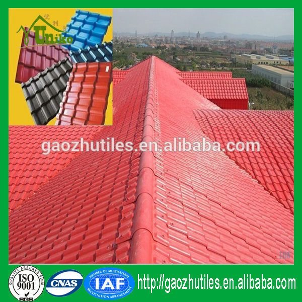 roof building system color roof price in philippines Sythetic Resin roofing sheets