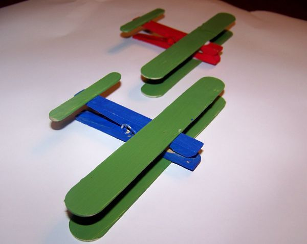 The 116 best images about popsicle stick paper roll for Airplane crafts for toddlers