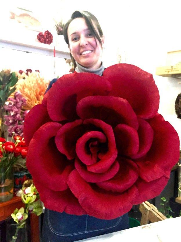 San Valentino: come realizzare la rosa gigante (video)