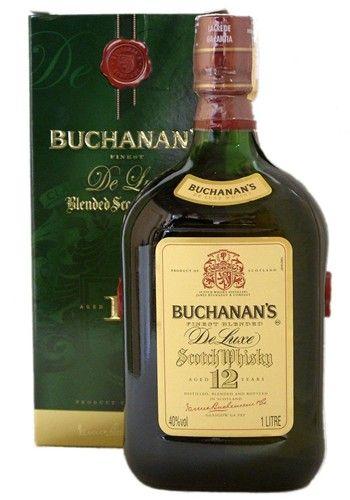 Whisky Blended Buchanan's 12 anos Teor alcoólico: 40% Volume: 1.000 ml