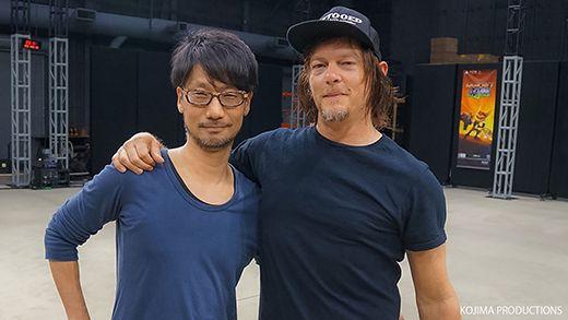 Death Stranding – il backstage del trailer con Hideo Kojima e Norman Reedus