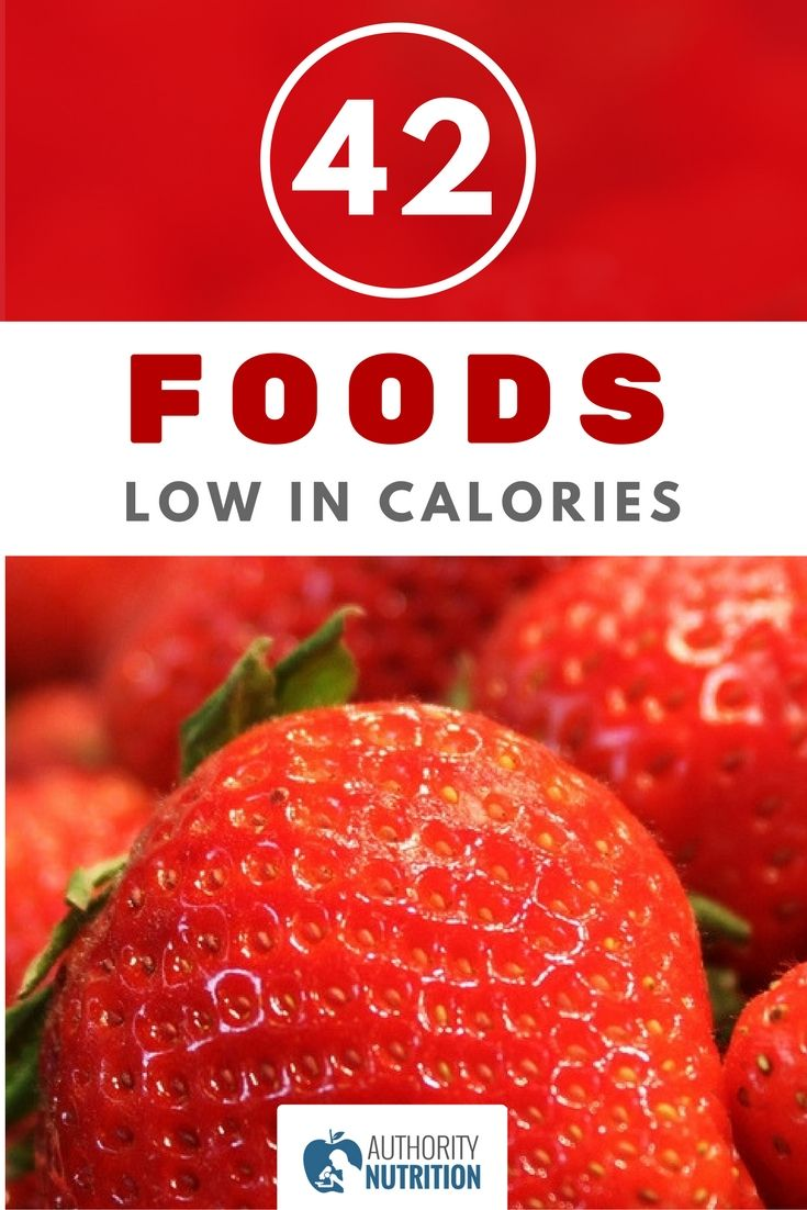When limiting your calorie intake, it's important to choose nutritious low-calorie foods. Here are 42 healthy foods that are incredibly low in calories.https://authoritynutrition.com/42-foods-low-in-calories/