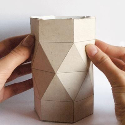 How to make a Self Closing Faceted Treat Box