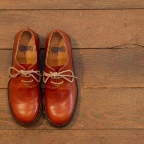 Lady's shoes C01-03〈グッドイヤーウェルト製法〉 camel ¥48,000-