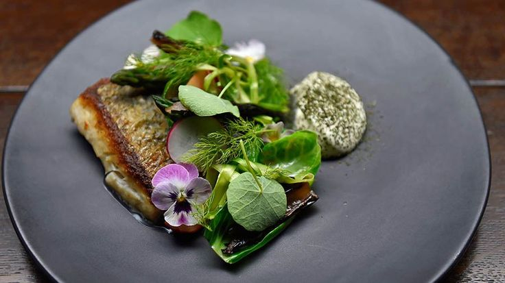 Mulloway, White Onion, Cultured Cream and Fennel Dust