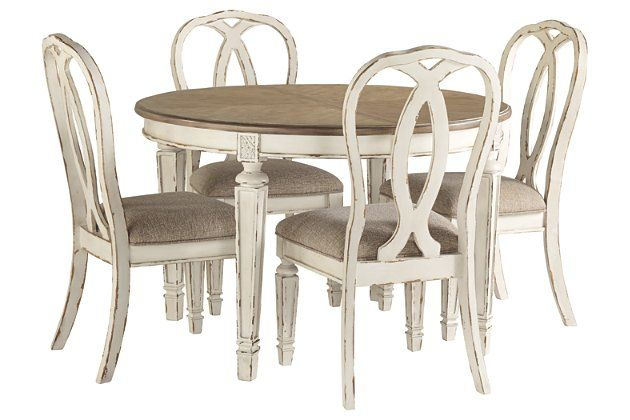 Realyn 5 Piece Dining Room Package In 2020 With Images Dining
