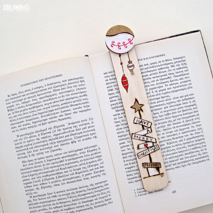 Wood burned bookmark, Pyrography, Christmas, Merry Christmas gifts,  unique gift for book lovers by DreamBigHandmade on Etsy