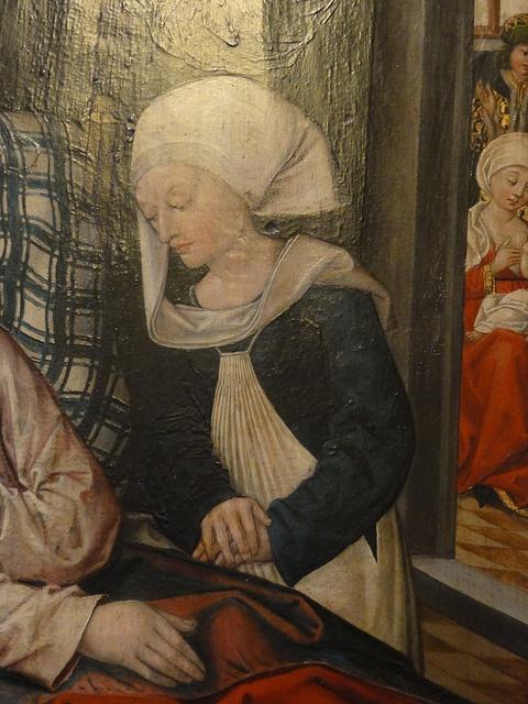 Zwei Wunder aus der Kindheit des hl. Nikolaus Hans Traut Nurnberg, Ende 15.Jhr BNM-Munich Inv.NR MA 2789