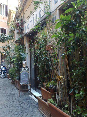 Trattoria Dal Cavalier Gino cucina romana al centro