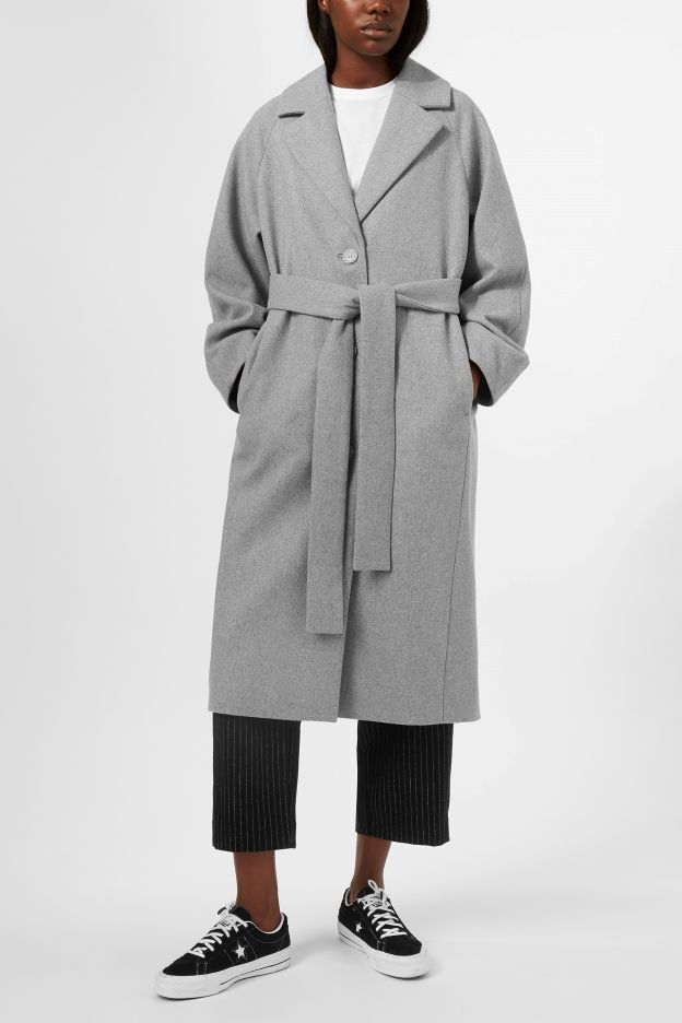 Weekday image 4 of Vivi Coat in Grey