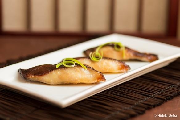 Miso black cod, a la Nobu...best sushi in California........and I saw Anthony Hopkins here (ahh)