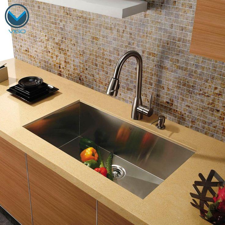 25 best ideas about undermount stainless steel sink on - Undermount granite kitchen sinks ...
