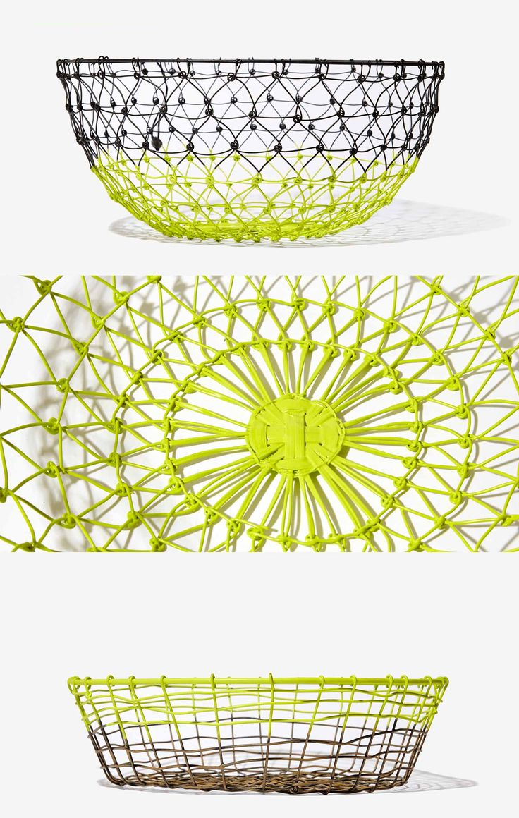 Neon Wire Baskets - £24.00