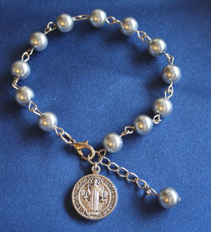 Religious Charm Bracelet: 37 Best High Quality Catholic Rosaries Images On Pinterest