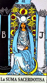 Reiki y Tarot: La sacerdotisa