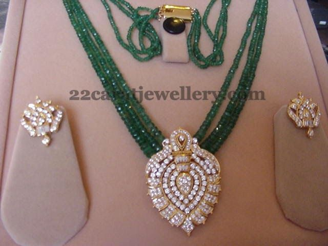 Beads Jewelry with Diamond Tops