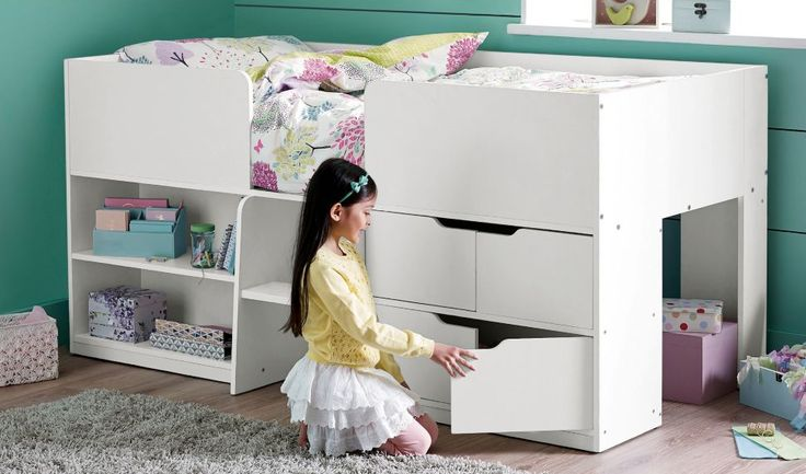 Every child wants a cabin bed, right? Ideal for those smaller rooms, this Contemporary Cabin Bed from Next boasts a modern design and a great storage solution.