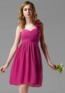 Dark Purple Chiffon Vintage Bridesmaid Dresses
