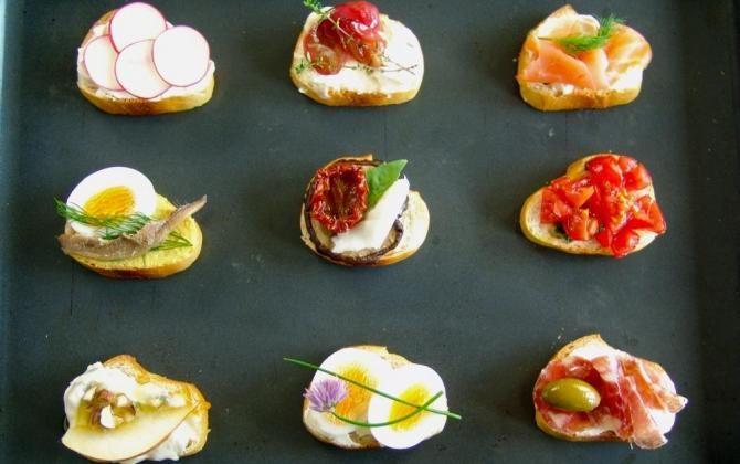 ELLE menu: Tapas, fingerfood nebo chlebíčky!
