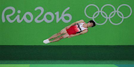 棟朝の演技 :フォトニュース - リオ五輪・パラリンピック 2016:時事ドットコム