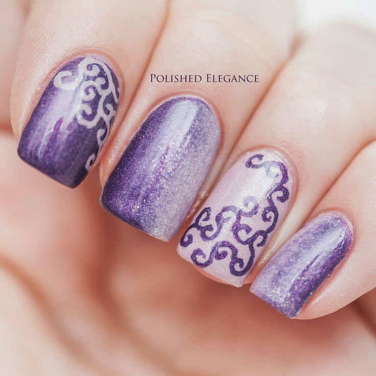 Rapunzel Nails: 21 Best Images About Tangled Nails & Nail Art Design
