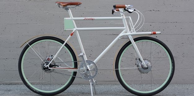 The ultimate utility bike designed by IDEO for non-profit Oregon Manifest