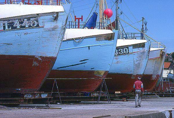 Lemvig fishing boats