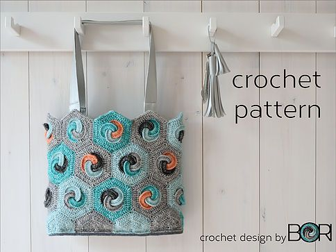 NEW! Hexa bag pattern | DESIGNbyBORI, Budapest, Design Blog, DIY patterns