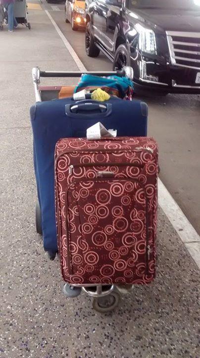 Natalie's luggage
