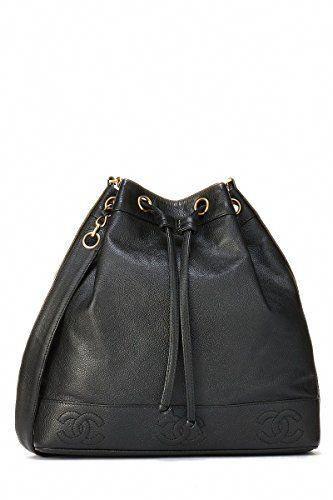 21d8a08cad0a SALE PRICE - $3300 - CHANEL Black Caviar Bucket Bag (Pre-Owned)  #Chanelhandbags