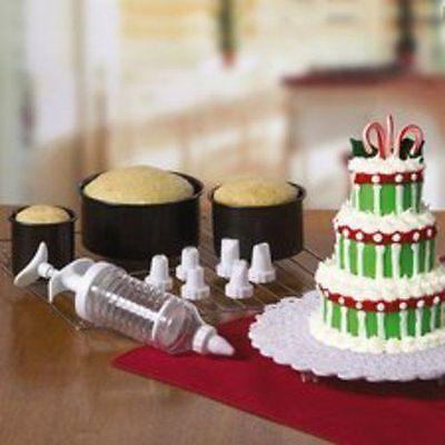 Tier Cake Pan Set