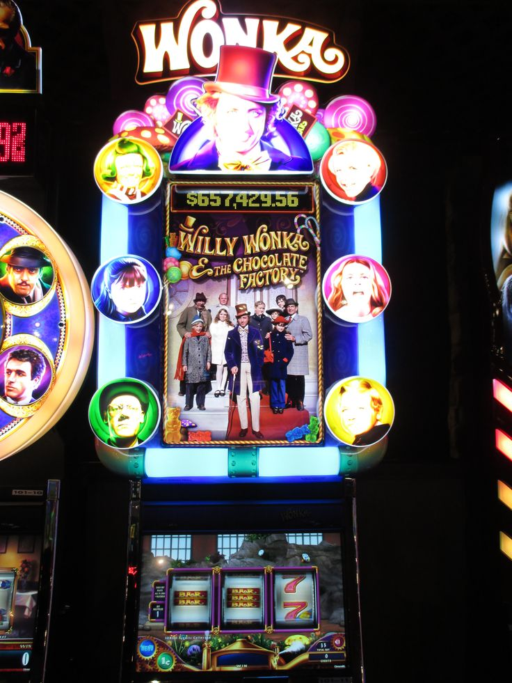 Willy Wonka Casino Machine