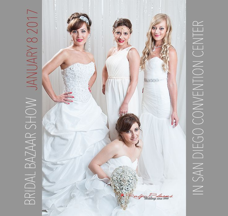 JOIN US AT UPCOMING BRIDAL BAZAAR SHOW - JANUARY 8 2017 - WE WILL PRESENT OUR 2017 BROOCH BOUQUET AND BRIDAL ACCESSORY COLLECTION AS WELL AS LIVE FLOWERS FOR YOUR LOCAL WEDDING IN SAN DIEGO AND SD COUNTIES. ◦ #wedding #bride #bridesmaids #rubyblooms #bridalshower #bridalshow #weddingdecor   #weddingflowers #justengaged #weddingfashion #bridalgown #sandiego #luxury #nycwedding #socalwedding #weddingplanner #broochbouquet #nywedding #glamorous #sandiego #weddingday  #bridalgown #dress…