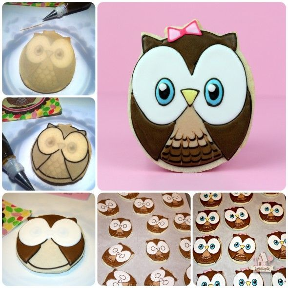 How to Make an Owl Cookie Using a Kopykake Projector