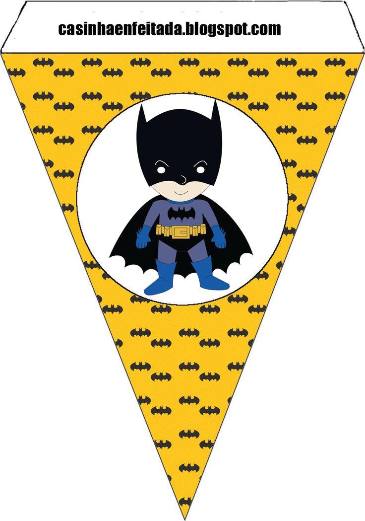 Casinha de Criança: Kit Festa Batman Para Imprimir Grátis                                                                                                                                                                                 Mais