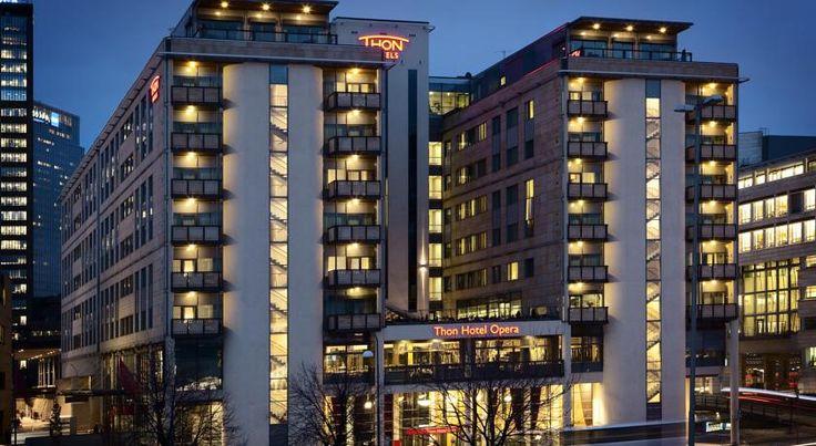 泊ってみたいホテル・HOTEL|ノルウェー>オスロ>オスロのオペラハウスを一望できるホテル>トーン ホテル オペラ(Thon Hotel Opera)