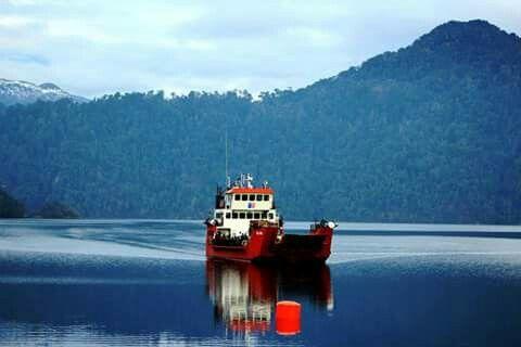 transbordador hua hum. puerto fuy